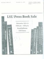 Advertisement for LSU Press Book Sale