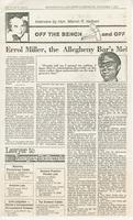 Article:  Errol Miller, Allegheny Bar's Mel