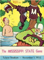 Tulane University Football Program-The Greenie; Mississippi State vs. Tulane