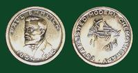 Paul Ehrlich Commemorative Medal -- Established Modern Chemotherapy